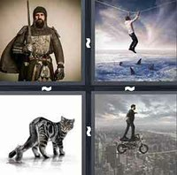 4 Pics 1 Word Levels Courage