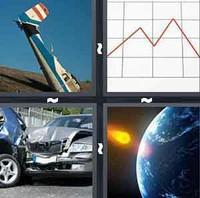 4 Pics 1 Word Levels Crash