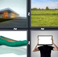 4 Pics 1 Word Levels Flat