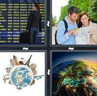 4 Pics 1 Word Levels Travel