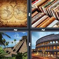 4 Pics 1 Word Levels Ancient