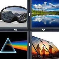 4 Pics 1 Word Levels Reflect