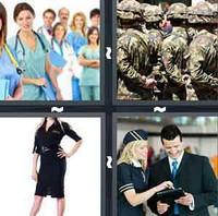 4 Pics 1 Word Levels Uniform