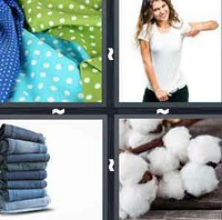 4 Pics 1 Word Levels Cotton