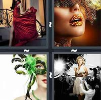 4 Pics 1 Word Levels Glamour