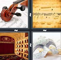 4 Pics 1 Word Levels Opera
