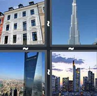 4 Pics 1 Word High-rise