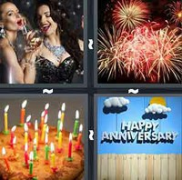 4 Pics 1 Word Occasion