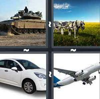 4 Pics 1 Word Levels Vehicle
