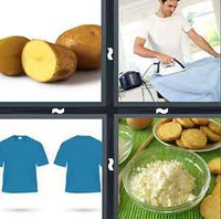 4 Pics 1 Word Levels Starch