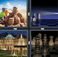 4 Pics 1 Word Levels Castle