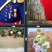 4 Pics 1 Word Decorate