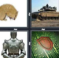 4 Pics 1 Word Levels Armor