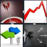 4 Pics 1 Word Levels Arrow