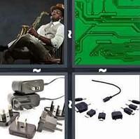 4 Pics 1 Word Levels Adapter