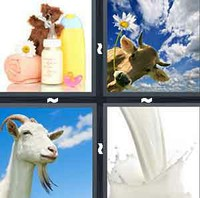 4 Pics 1 Word Levels Milk