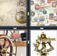 4 Pics 1 Word Navigate
