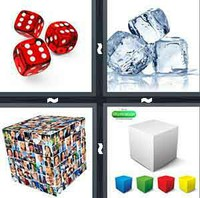 4 Pics 1 Word Cube