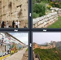 4 Pics 1 Word Wall