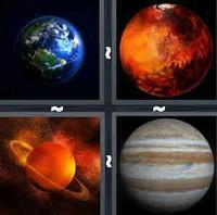 4 Pics 1 Word Planet