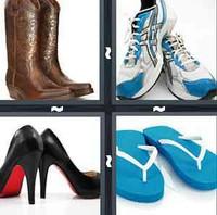4 Pics 1 Word Shoe
