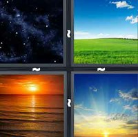 4 Pics 1 Word Levels Sky