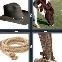 4 Pics 1 Word Levels Cowboy