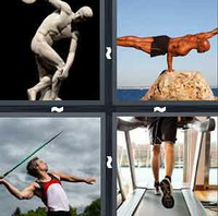 4 Pics 1 Word Athlete
