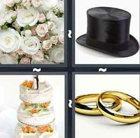4 Pics 1 Word Wedding