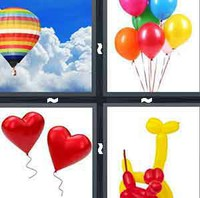 4 Pics 1 Word Balloon