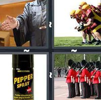 4 Pics 1 Word Defense