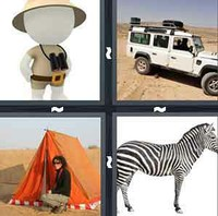 4 Pics 1 Word Safari
