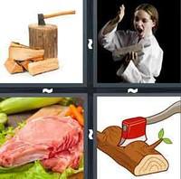 4 Pics 1 Word Chop