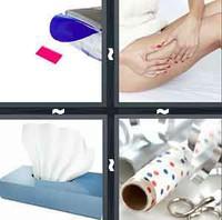 4 Pics 1 Word Tissue