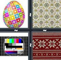 4 Pics 1 Word Pattern