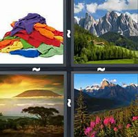 4 Pics 1 Word Levels Mountain