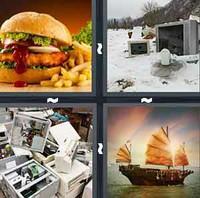4 Pics 1 Word Junk