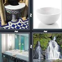 4 Pics 1 Word Levels Basin