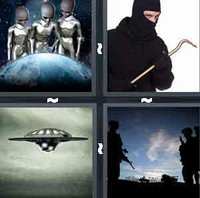 4 Pics 1 Word Invader