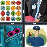 4 Pics 1 Word Levels Badge