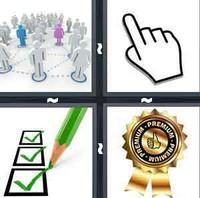4 Pics 1 Word Levels Select