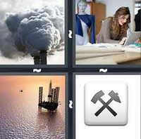 4 Pics 1 Word Levels Industry
