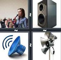 4 Pics 1 Word Speaker