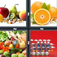 4 Pics 1 Word Levels Vitamin