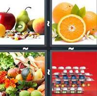4 Pics 1 Word Vitamin