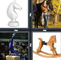 4 Pics 1 Word Levels Horse