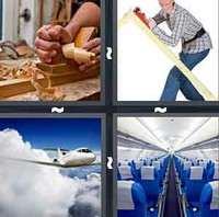 4 Pics 1 Word Levels Plane
