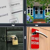 4 Pics 1 Word Privacy