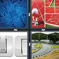 4 Pics 1 Word Circuit