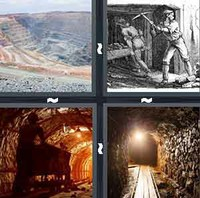 4 Pics 1 Word Mining